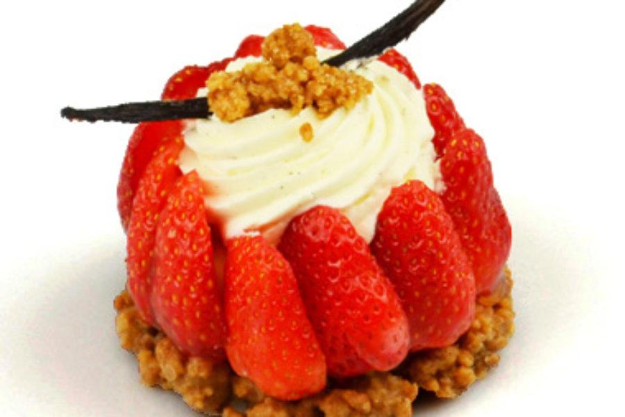 notre tarte aux fraises